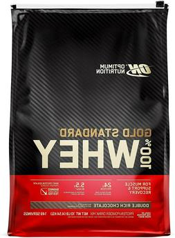 Optimum Nutrition Gold Standard 100% Whey Protein,Double Ric