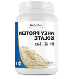 Nutricost Whey Protein Isolate  2LBS